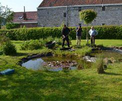 Comment trouver la fuite dans votre étang?