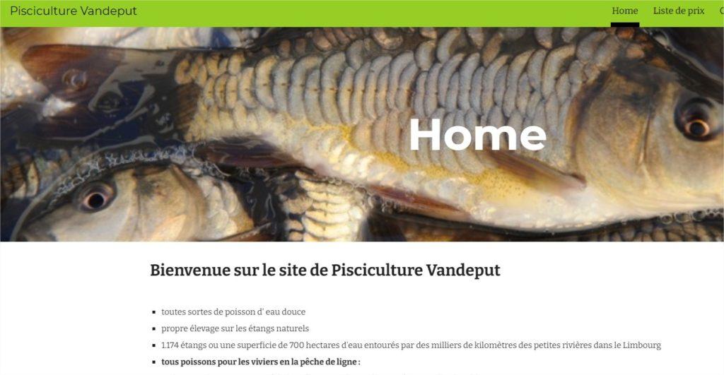 Pisciculture Vandeput – Google Chrome